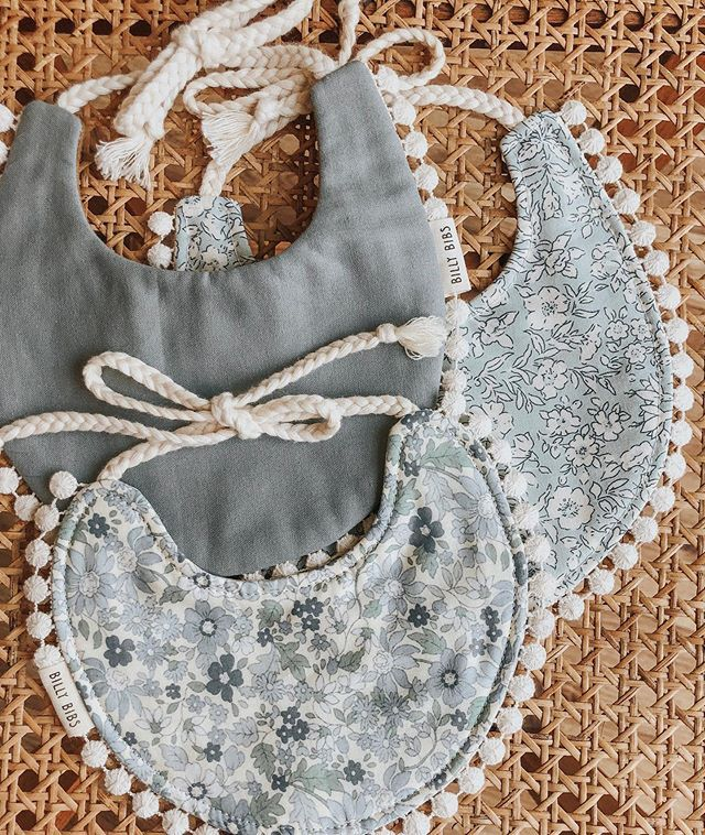 Unique Handmade Baby Bibs, Bows, Paci Clips and More | Billy Bibs