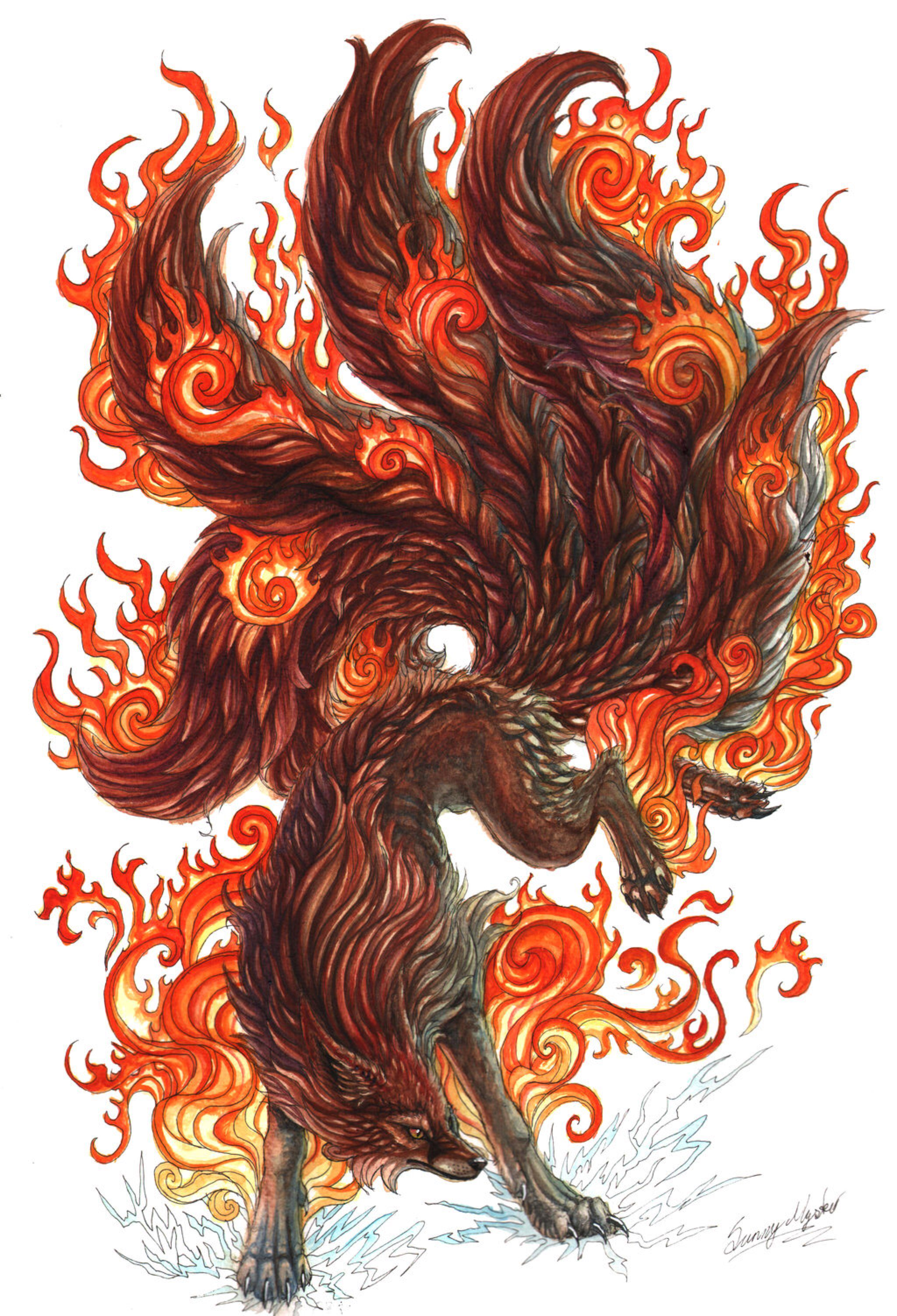 Kitsune by Sunima on DeviantArt. Kistune is the name of