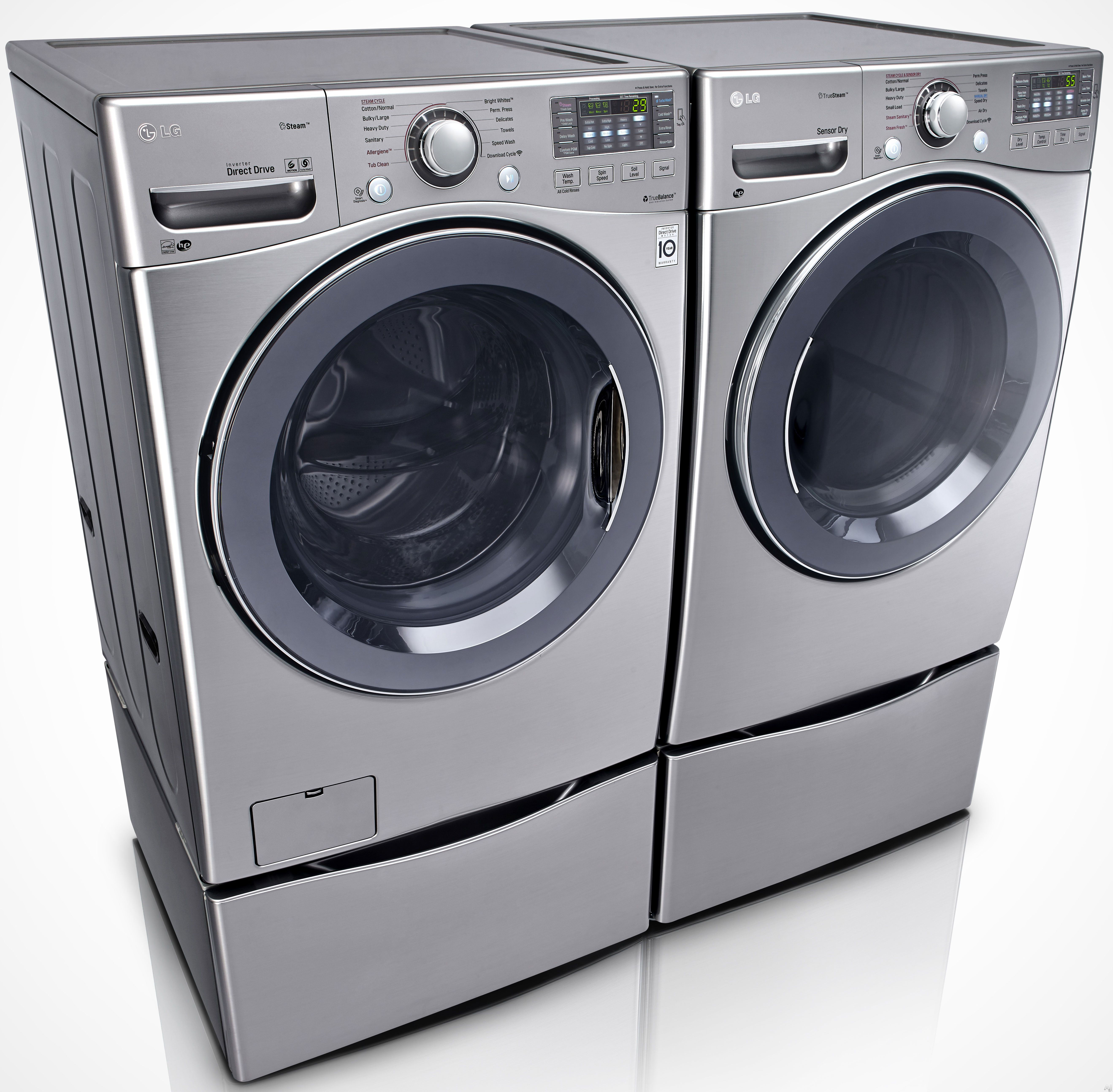 Lg Wm3570h 27 Front Load Washer With 4 3 Cu Ft Capacity