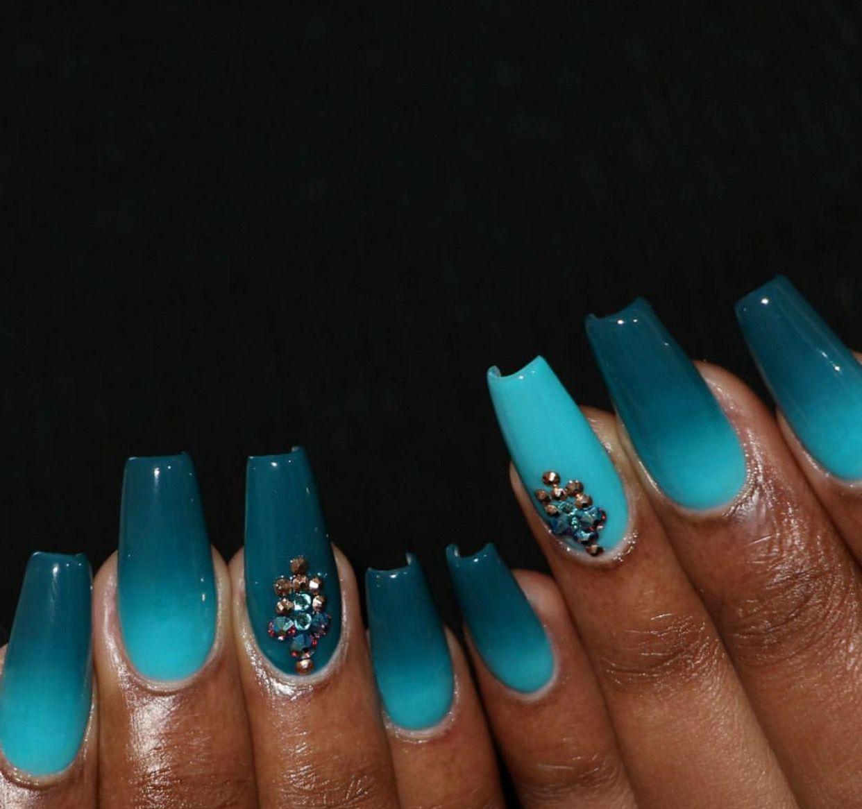Pin von Princess Lisa auf coffin nails | Pinterest | Nageldesign