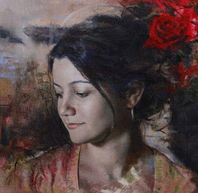 pintura-rostros-de-mujeres Pintor Cesar Santos