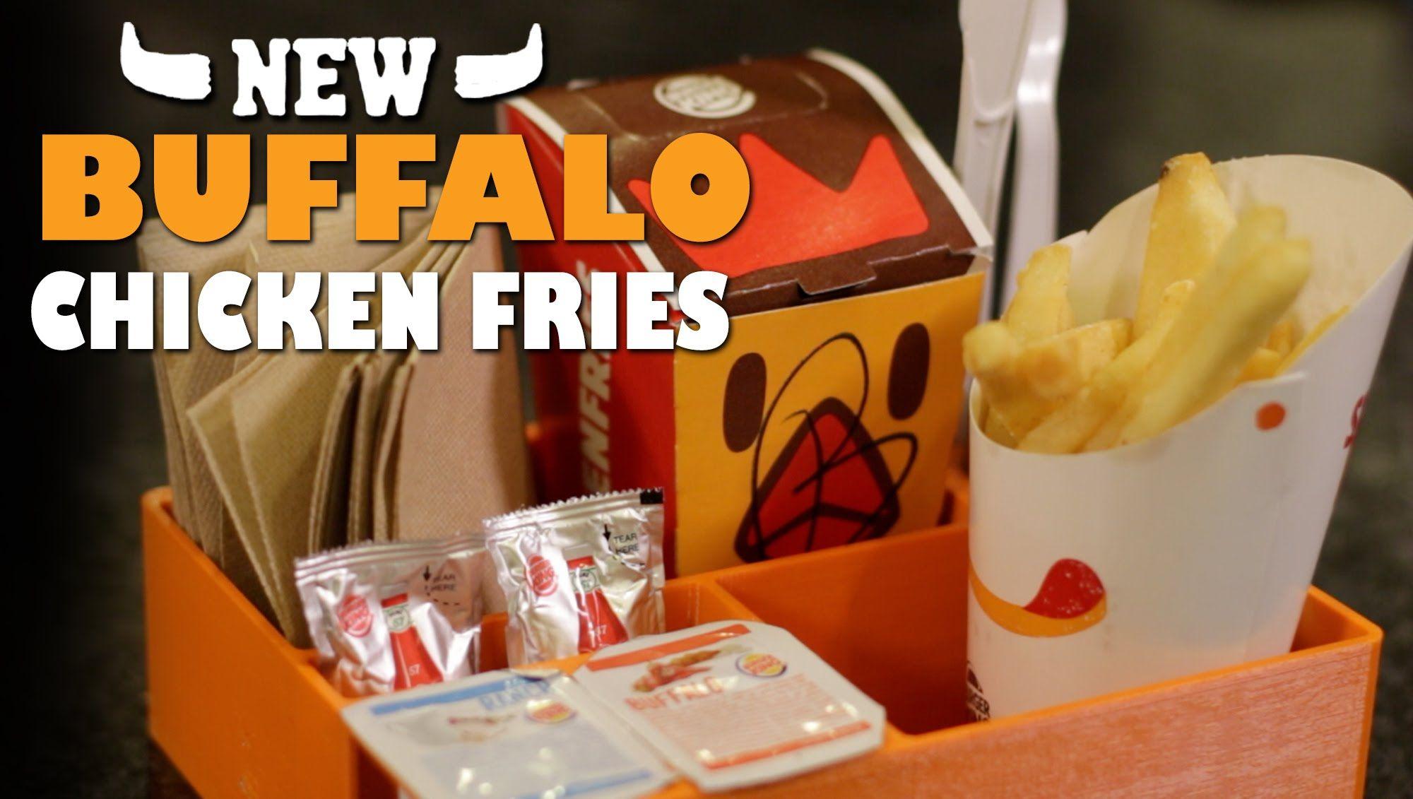 Buffalo chicken fries drive thru caddy review