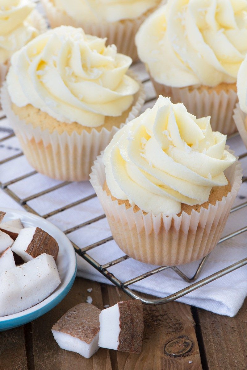 Cupcake Kuchen These Coconut Cupcakes Are Unbelievably Easy To Make And Packed