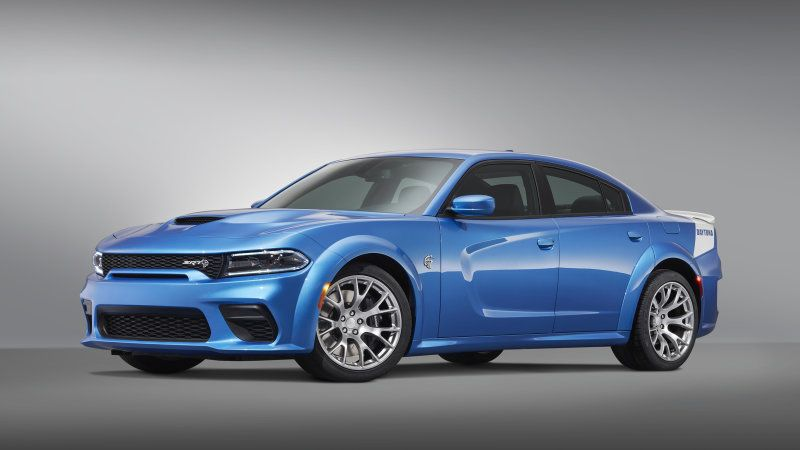 2020 Dodge Charger Srt Hellcat Widebody Daytona 50th Anniversary Edition Celebrates An Icon Charger Srt Dodge Charger Dodge Charger Srt