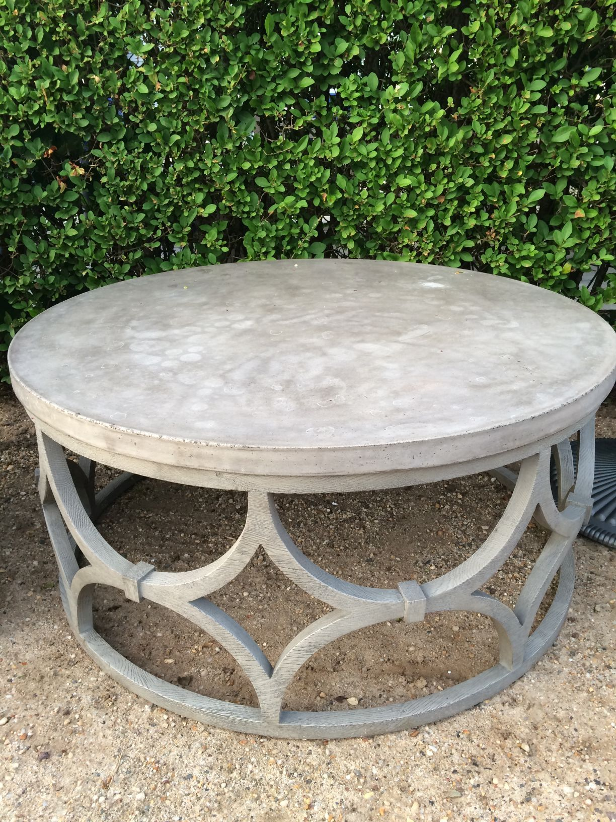 Outdoor Concrete Round Rowan Coffee Table Mecox Gardens Coffee Table Inspiration Coffee Table Coffee Table Wood [ 1632 x 1224 Pixel ]