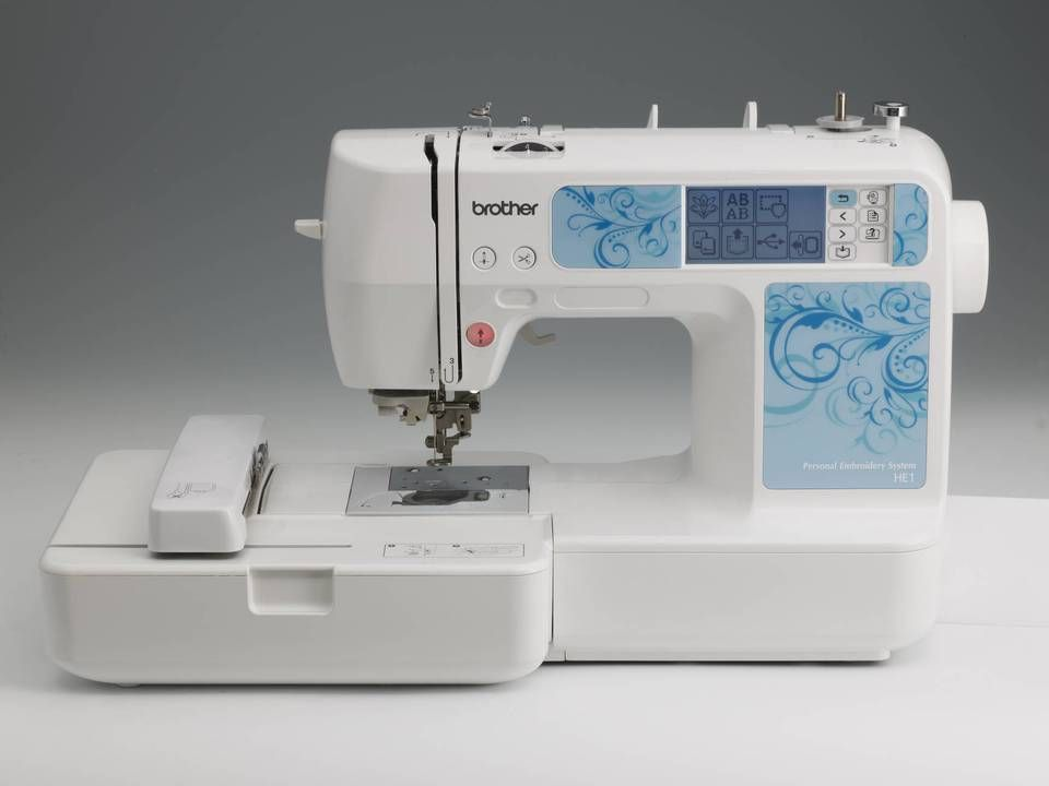 Brother He1 Embroidery Machine Computerized Embroidery Machine