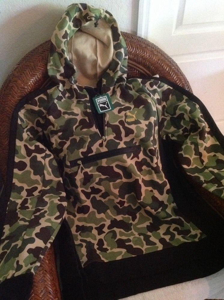 e8cff027985d6 CAMO EVO Savannah puma pullover jacket hoody New With Tags size 3XL mens    Clothing, Shoes & Accessories, Men's Clothing, Coats & Jackets   eBay!