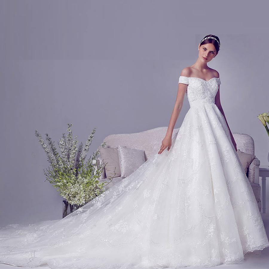 Wedding Dress Outlet Zuhair Murad Cathedral Train Wedding Dresses ...