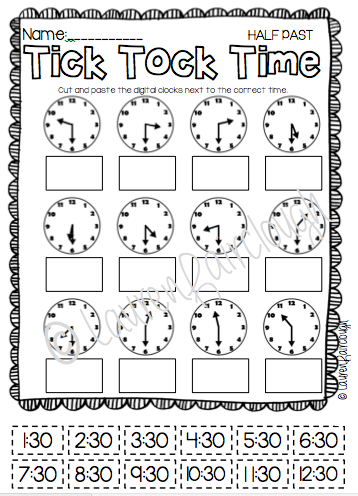 Telling Time Mega Pack For First And Second Grade Full Of Maths Games Centres And Worksheets Time Worksheets Second Grade Math First Grade Math