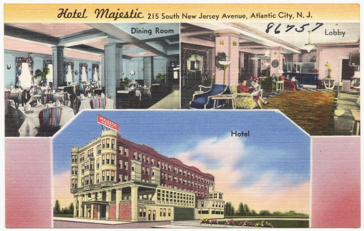 Hotel Majestic 215 South New Jersey Avenue Atlantic City N J