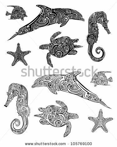 Tribal Sea Animals Tribal Tattoos Polynesian Tribal Tattoos Polynesian Tattoo