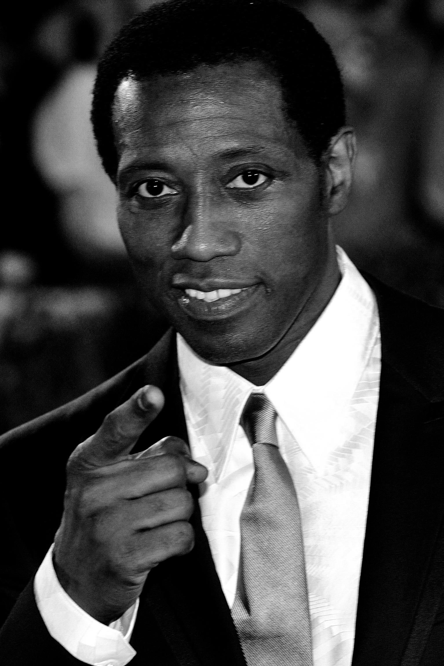 Wesley Snipes, Actor And Martial Artist. He Gained Fame