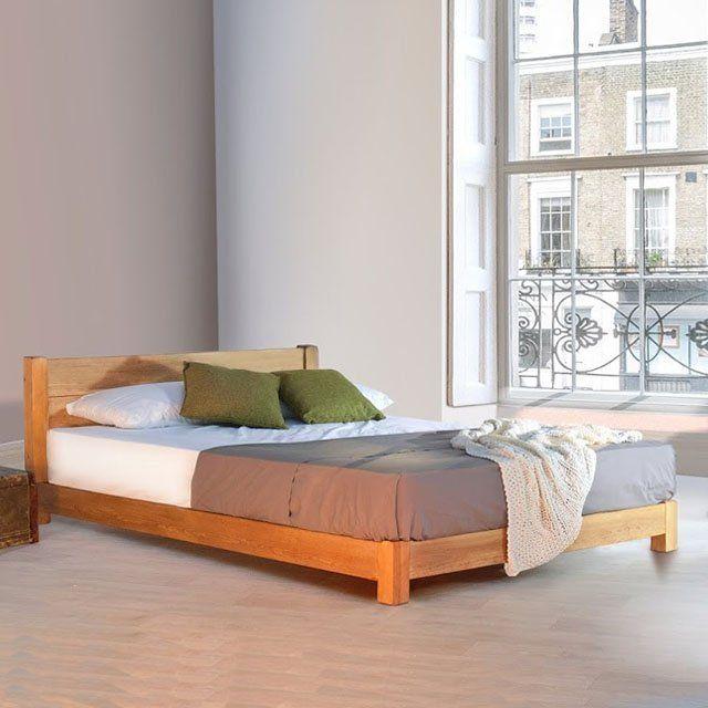 Handmade Low Wooden Bed | Bedrooms | Pinterest | Bed, Wooden bed ...