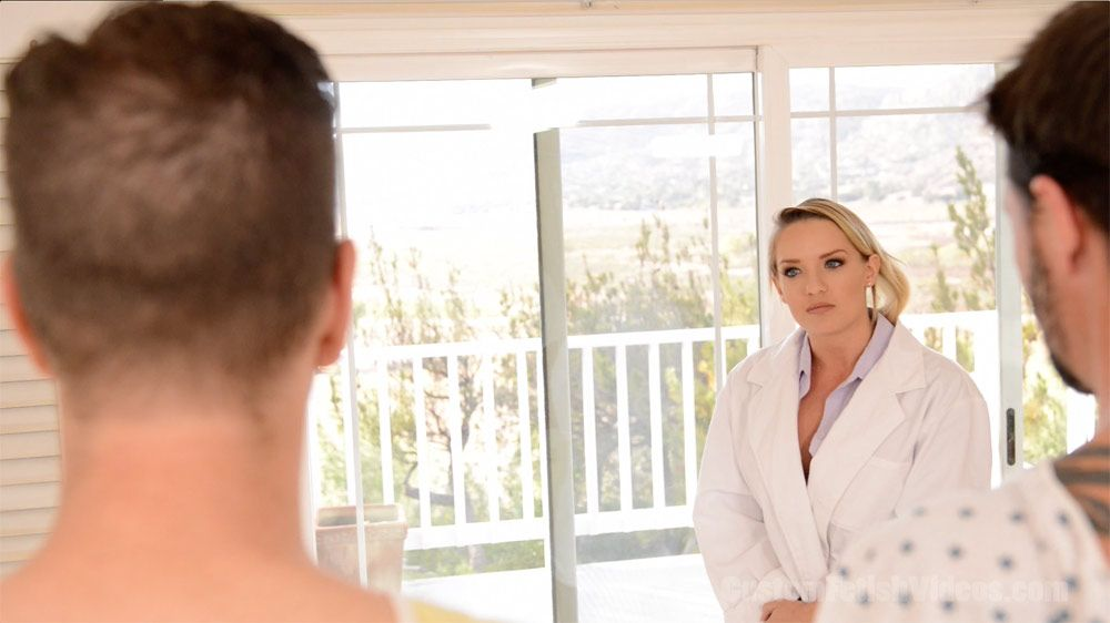 medical exam double blowjob | medical and cali