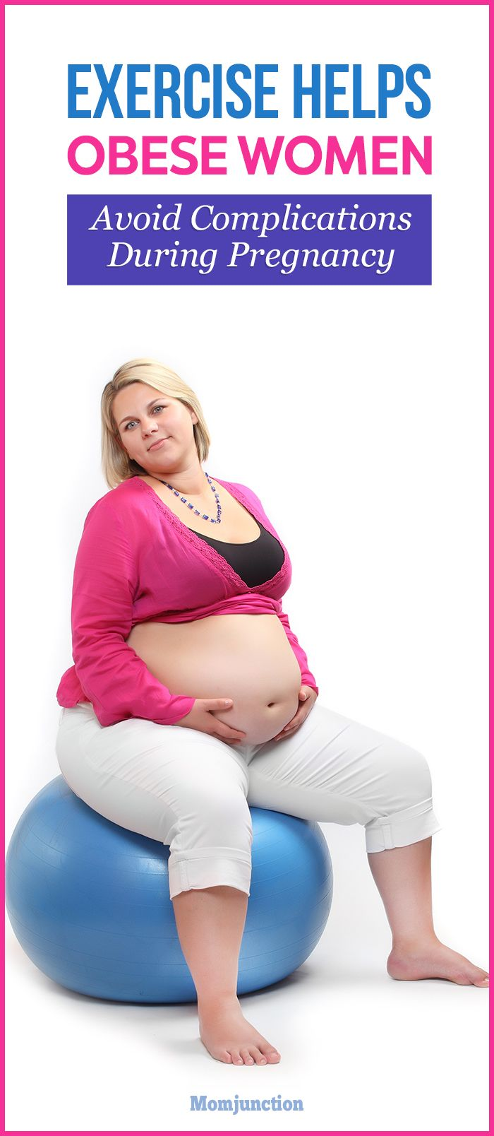 Exercise Can Help Obese Women Avoid Complications During Pregnancy