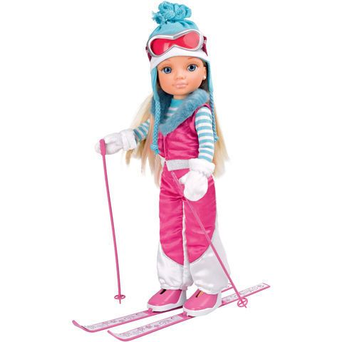Nancy Fait Du Ski 42 Cm Moinschers Net Poupee Nancy Jeu Jouet Poupee