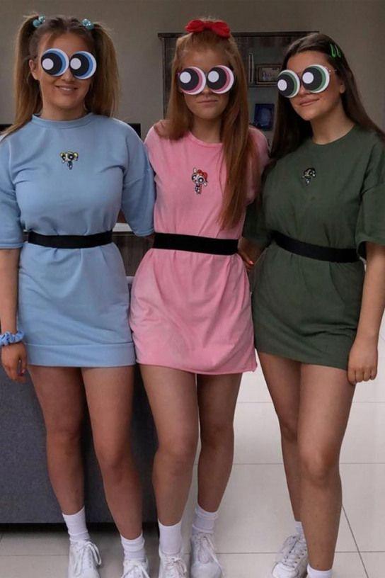 Disfraces 2020 Halloween Powerpruff Girls Costumes #powerpruffgirls ? Hot or scary best