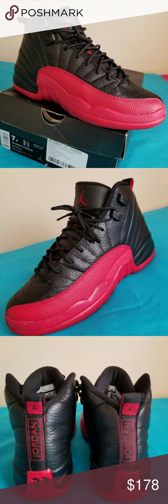 d857eaffd7ec0 Nike Air Jordan 12 FLU GAME size 7 Men Shoes is in excellent shape and  condition