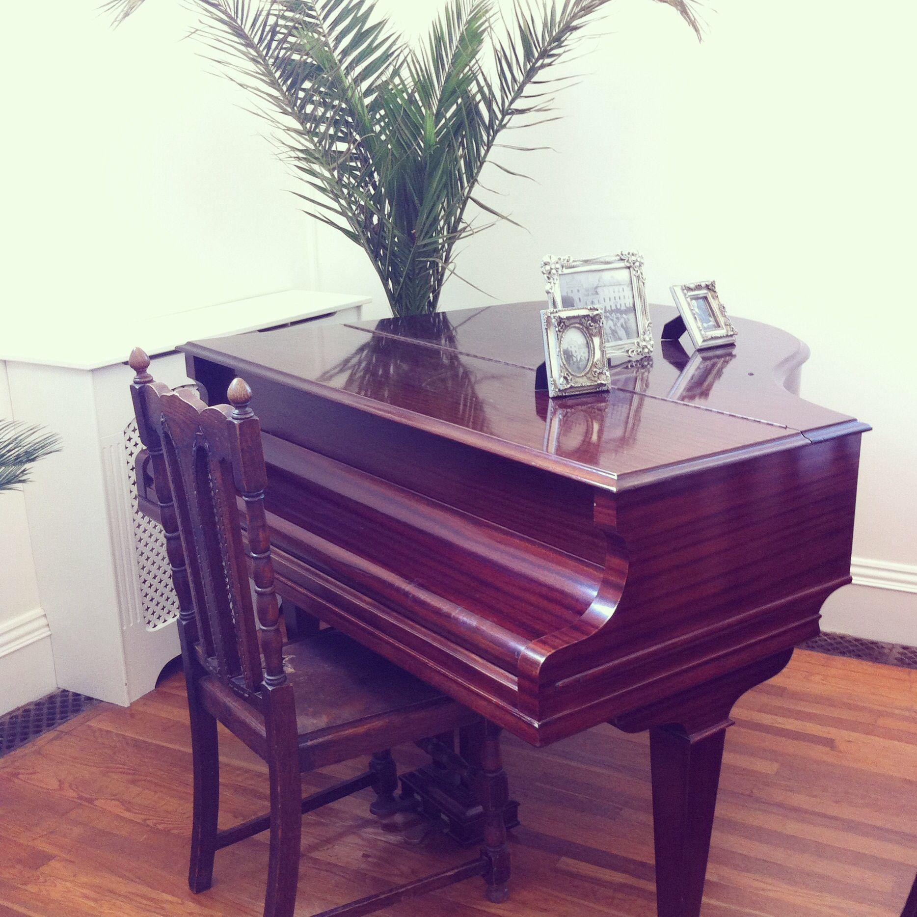 Piano in the new tearoom. Afternoon tea, Cream tea, Piano