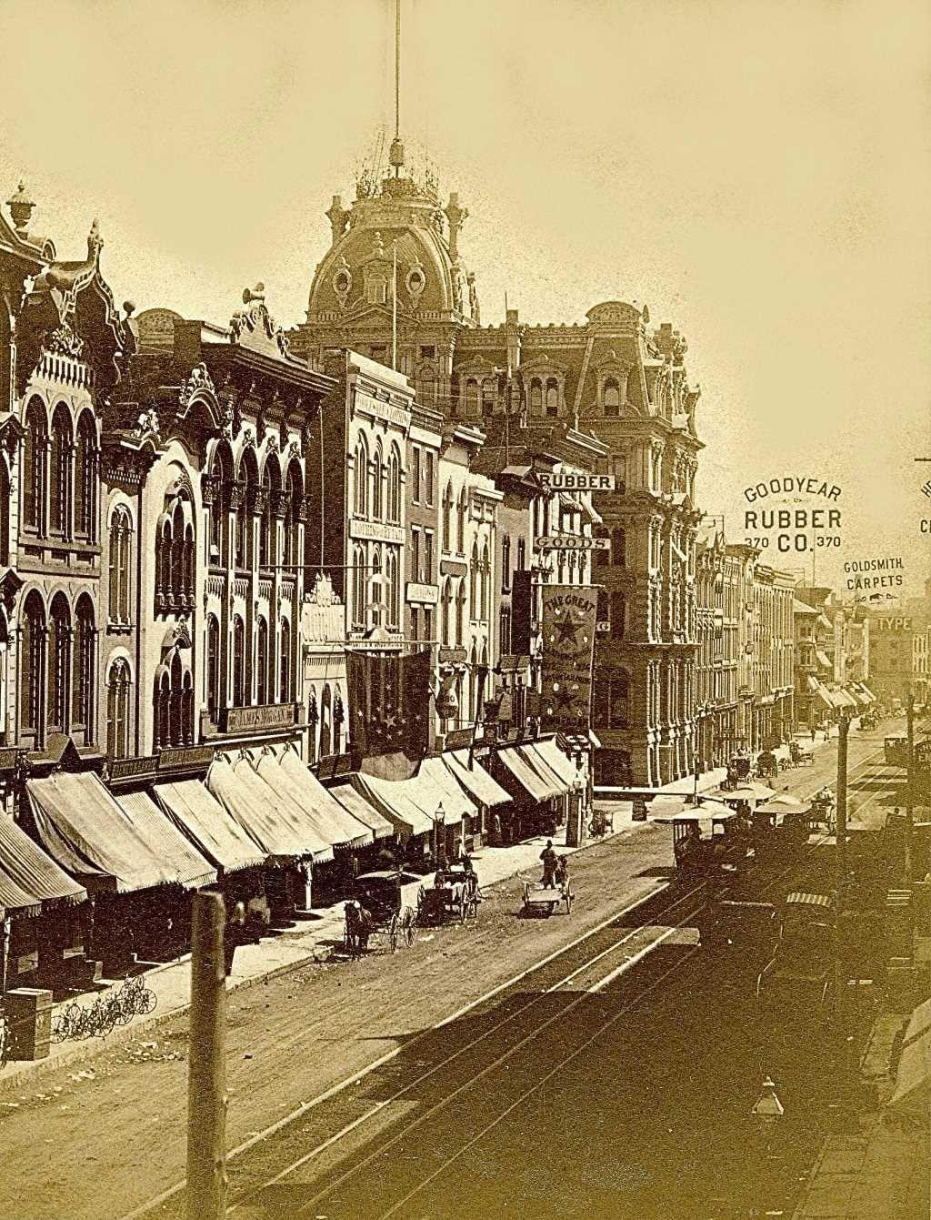 Yesterday S Milwaukee Water Street In 1880 Milwaukee