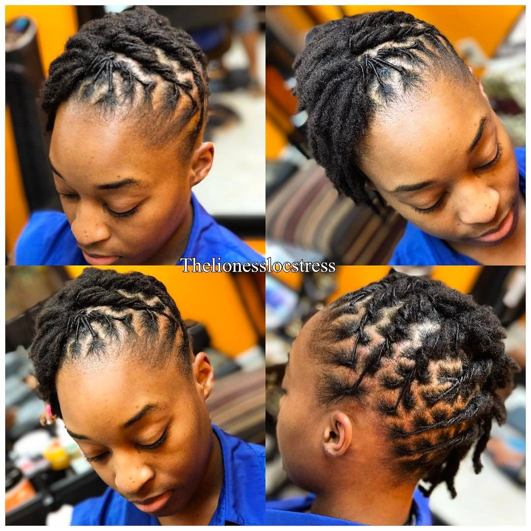 short locs do . . . locs started by locstress drea | locs