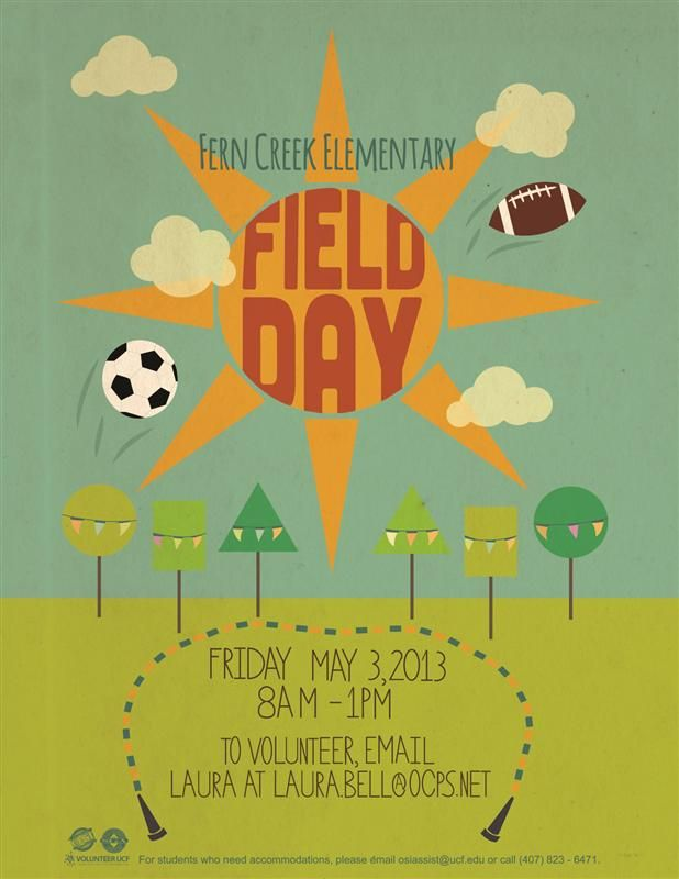 First Grade Field Games Day