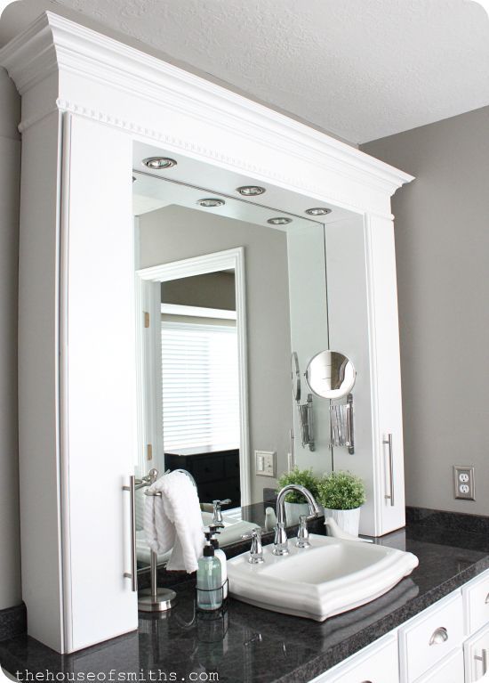 Photo of Master Bathroom Makeover Reveal + CD Towers turned Vanity Storage