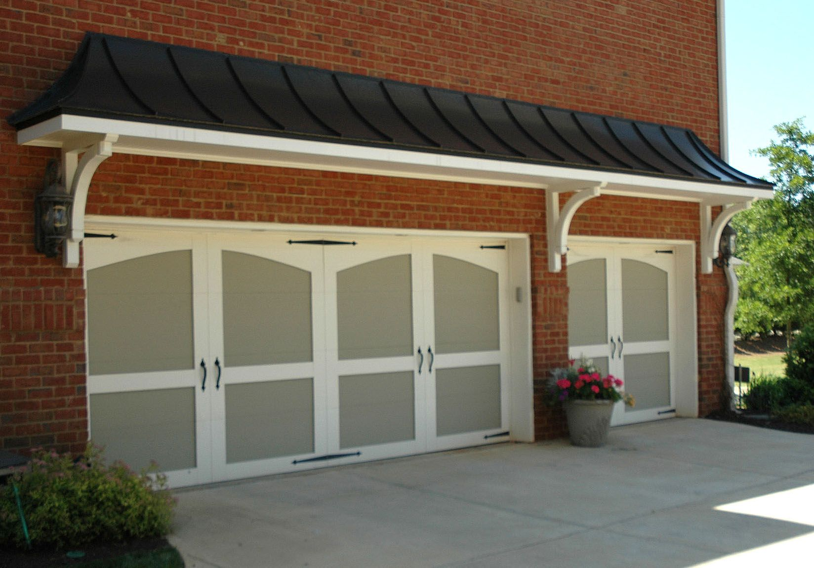 Best Portico Over A Garage Designed And Built By Georgia Front 400 x 300