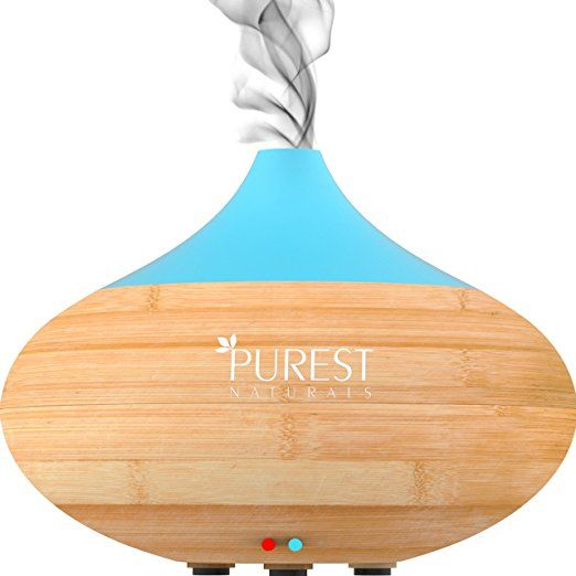 Purest Naturals Essential Oil Diffuser Best Cool Mist