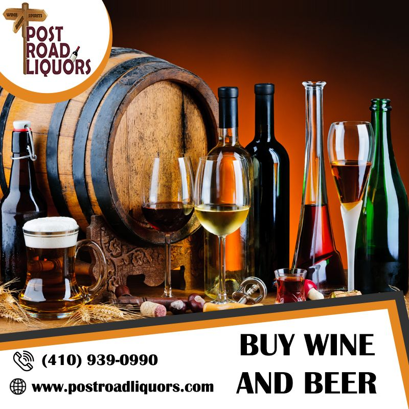 Shop the largest selection of wine and beer post road