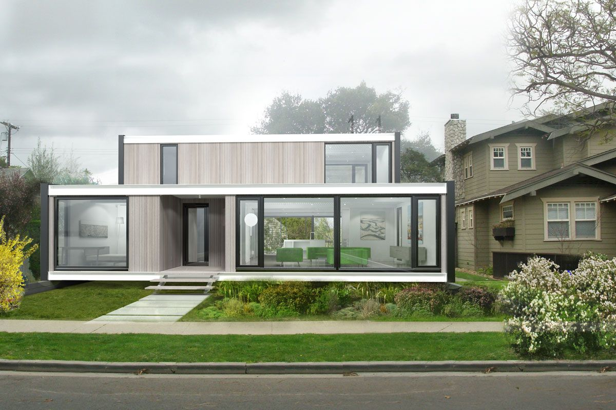 Exceptionnel Modern Connect:Homes Are The Latest In Affordable, Green Prefab Design