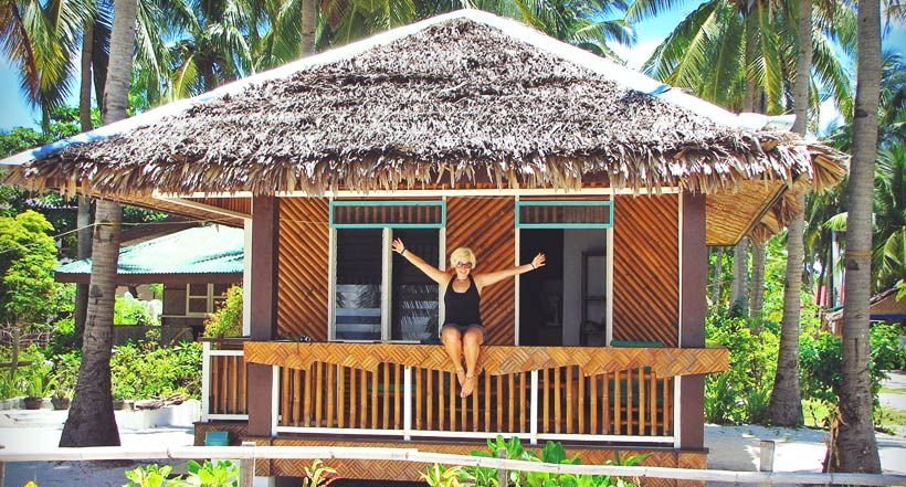 One of the nicest huts I've ever stayed. Malapascua
