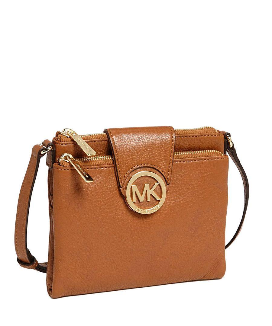 c0c26f86b8d2 Fulton tan leather cross body bag Sale - Michael Kors   Spring ...