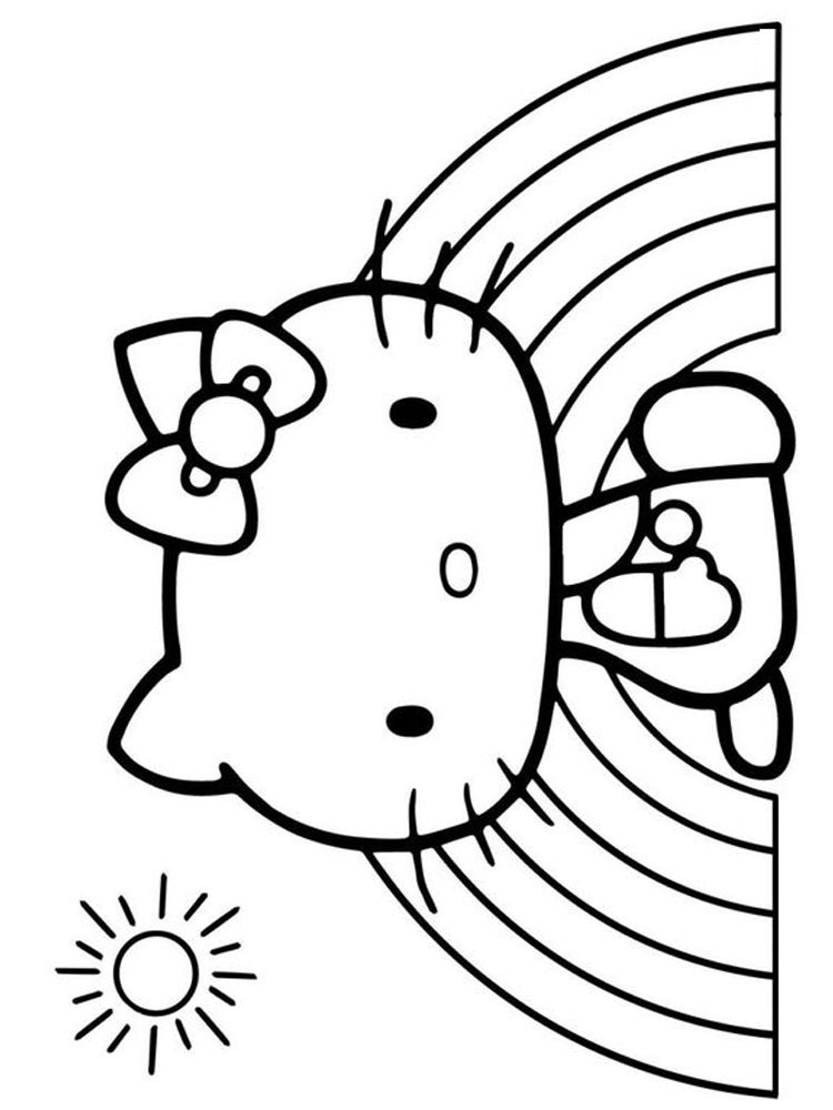 Printable Hello Kitty Coloring Pages For Kids Free Coloring Sheets Kitty Coloring Hello Kitty Coloring Hello Kitty Colouring Pages