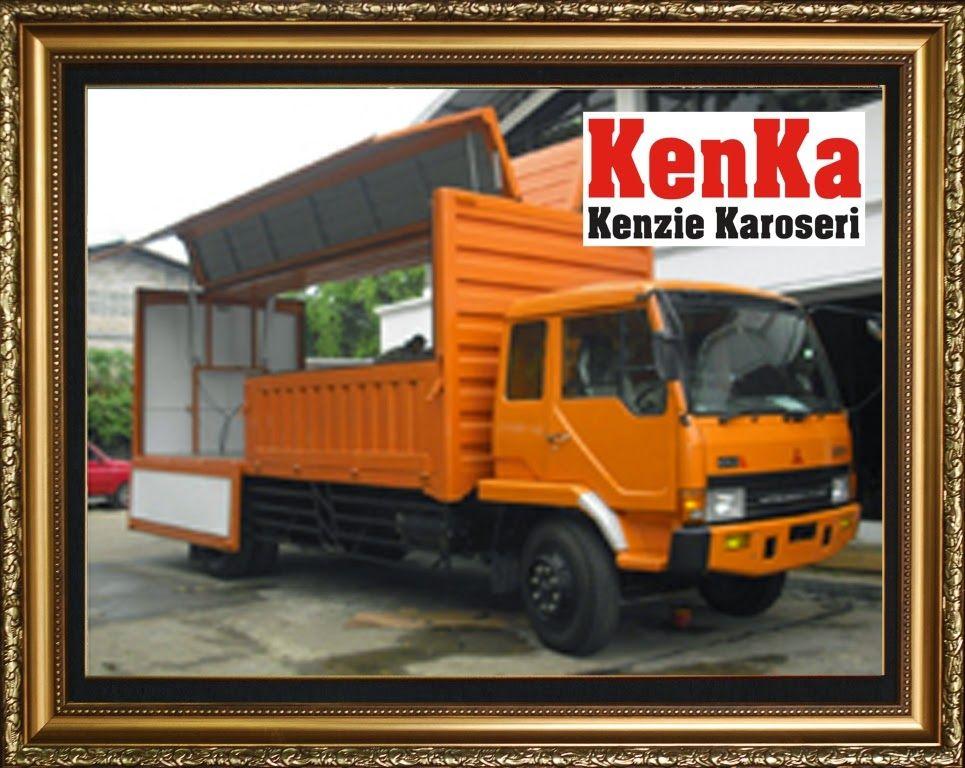 Truck Wingbox Dealer Mitsubishi Trailer Mobil Derek Mobil