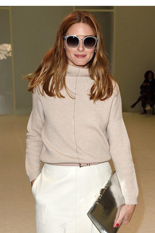 時裝周髮型的最完美贏家:Olivia Palermo