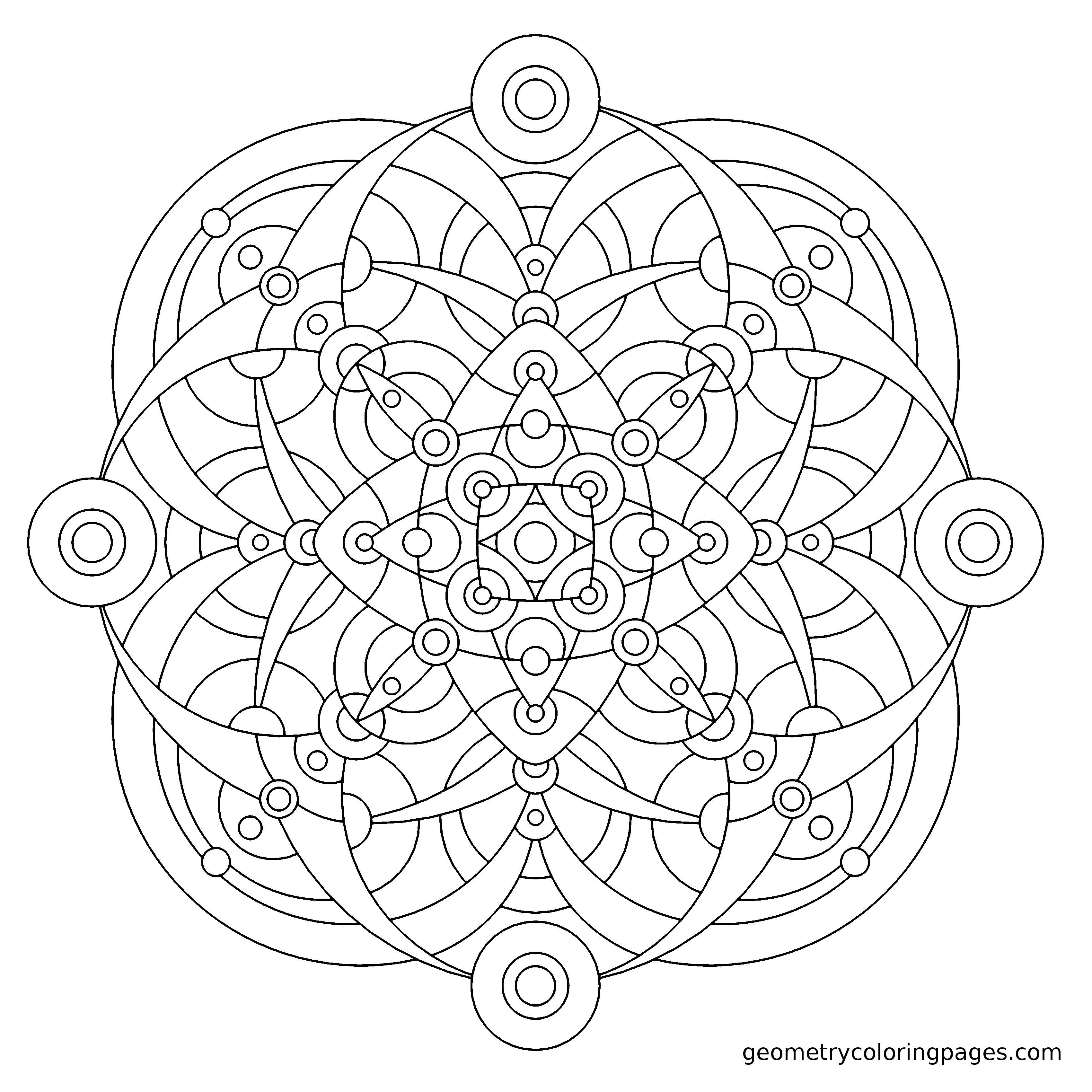 Tolle Leicht Bedruckbare Mandala Malvorlagen Ideen - Malvorlagen Von ...
