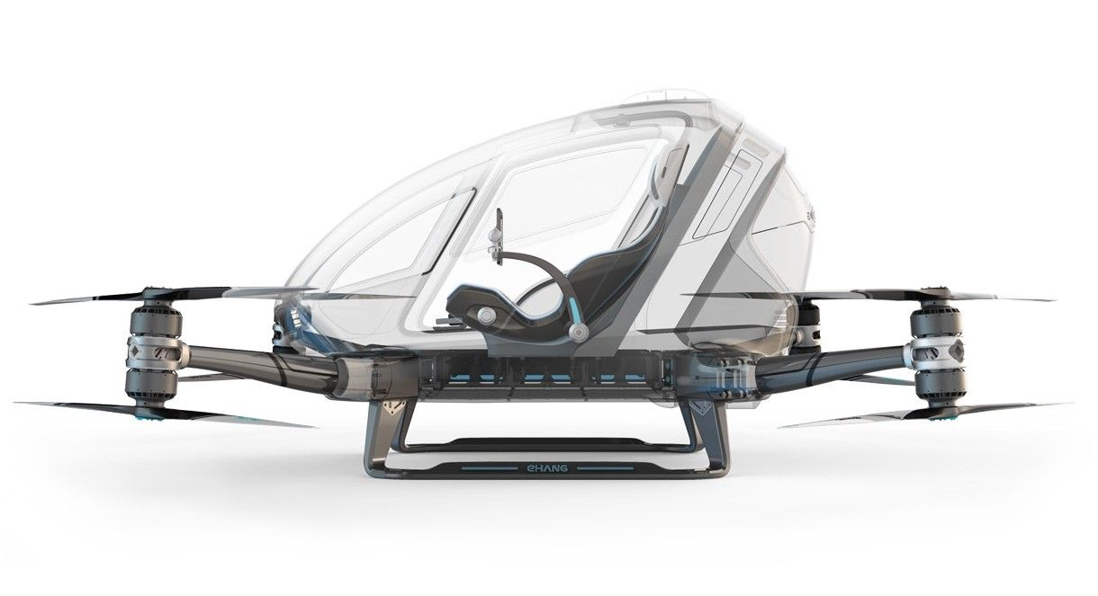 The EHang 184 Is the Mother of All Drones