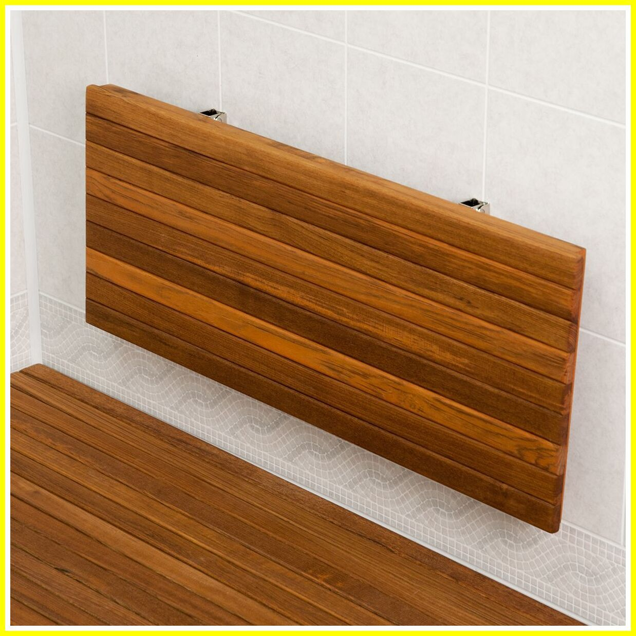 77 Reference Of Folding Bench Wall Brackets In 2020 Teak Shower Bench Teak Shower Teak Shower Seat