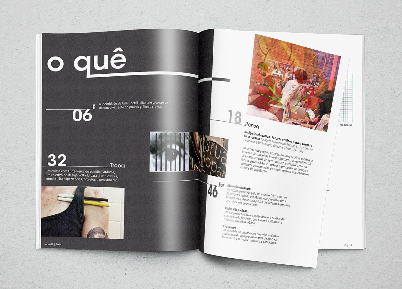 Magazine • Una on Behance