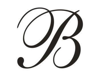 cursive capital b bullet that pinterest cursive monogram and lettering. Black Bedroom Furniture Sets. Home Design Ideas