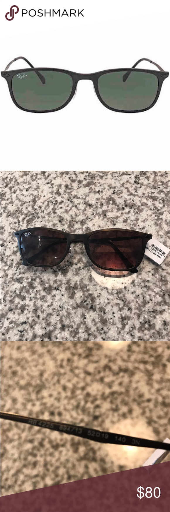 67f715bb131 Ray-Ban RB4225 Sunglasses Ray Ban Sunglasses. Series number  RB4225. Color  code