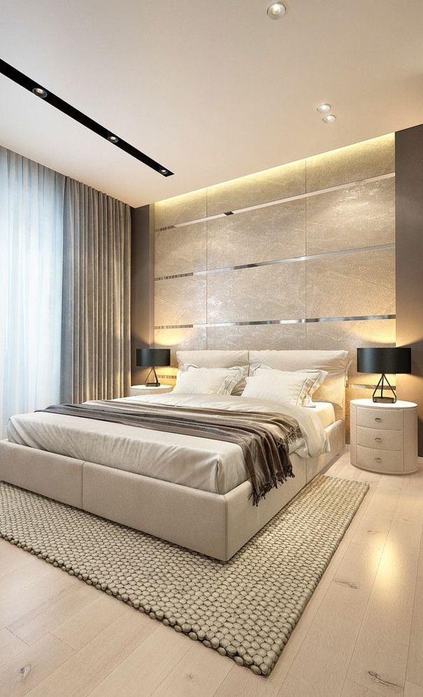 57 New Trend And Modern Bedroom Design Ideas For 2020 Part 32 Modern Master Bedroom Luxurious Bedrooms Modern Style Bedroom