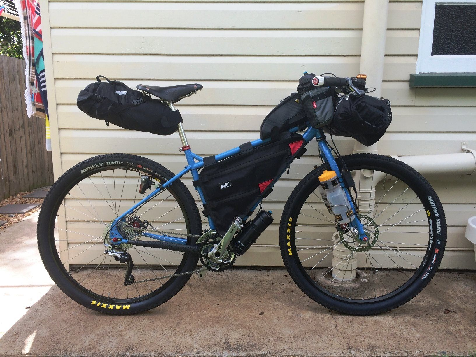 By Stephen Jennings Trek Bikes Bike Camping Touring Bike