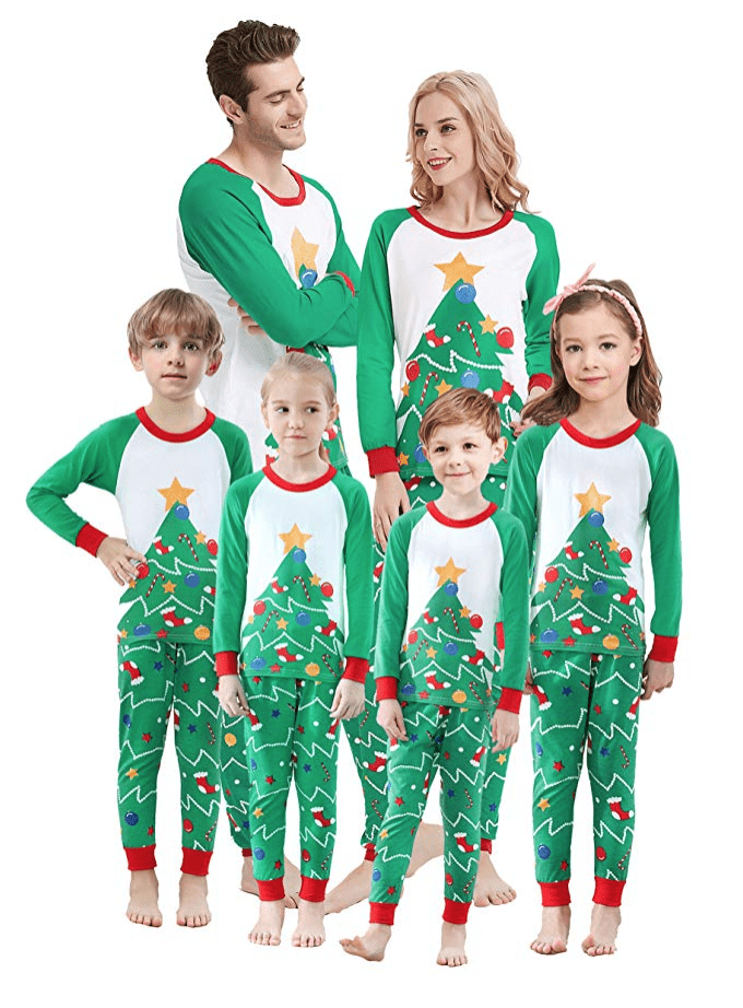 20 Matching Family Christmas Pajamas That'll Get You in
