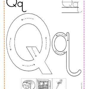 Caligrafía letras k, l, m, n, ñ, o, p, q (con imágenes
