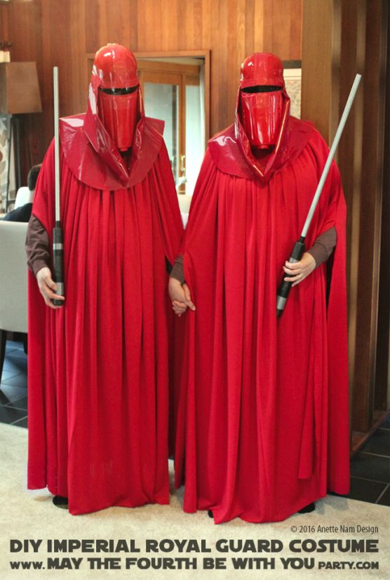 Star Wars Imperial Emperor/'s Red Royal Guard Costume Cosplay Uniform Outfit Suit