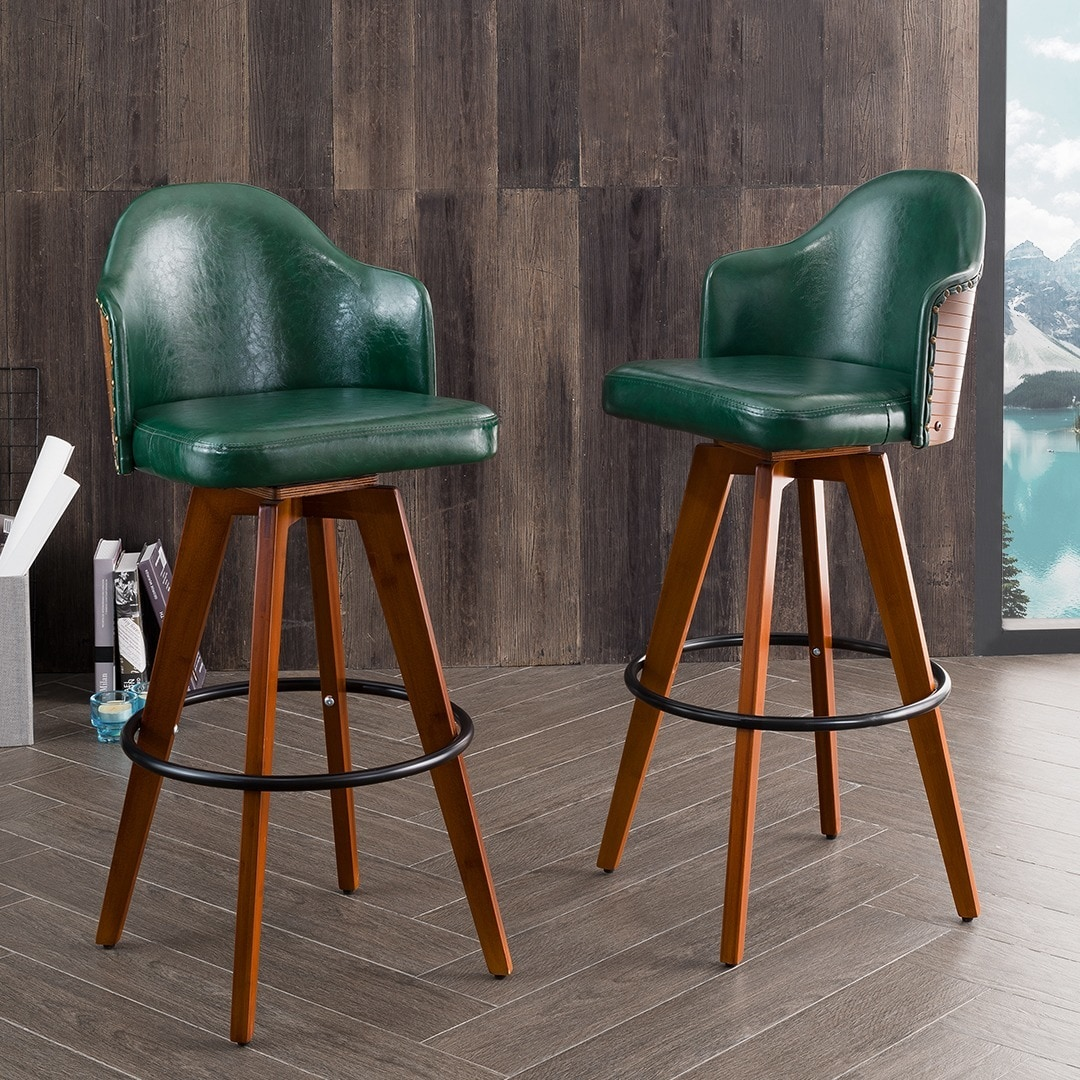 bamboo faux top furniture bahama on inch stool bar white swivel stools archived black metal aluminum