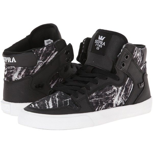 Womens Shoes Supra Vaider Black/White/Print