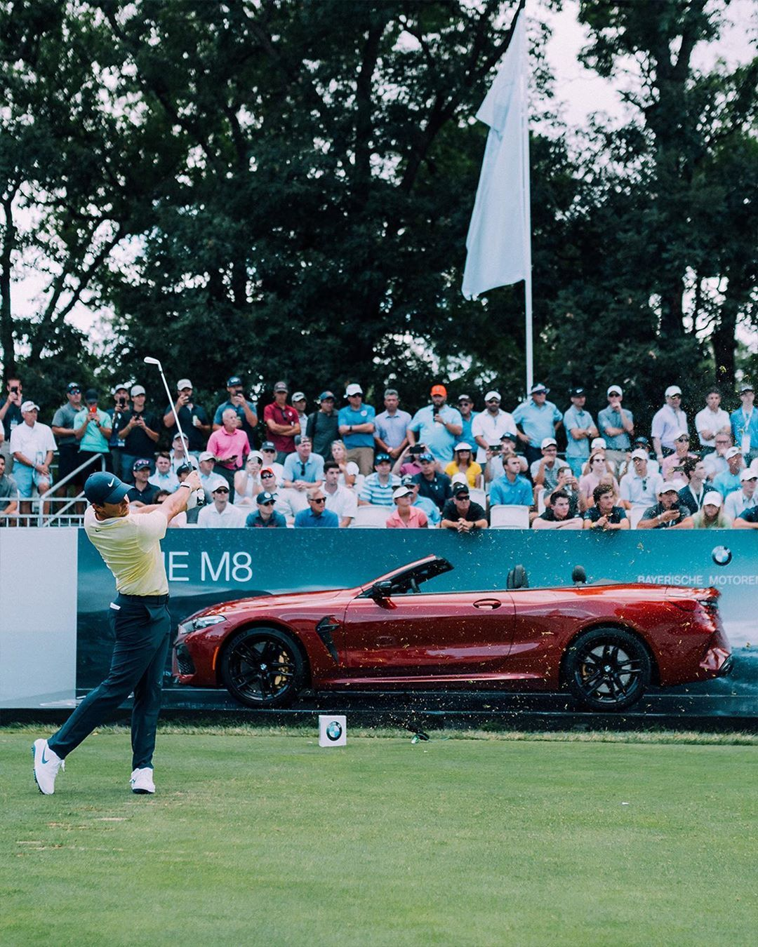 From Bmw Driving For Greatness At The 2019 Bmw Championship Bmw Monster Trucks Trucks